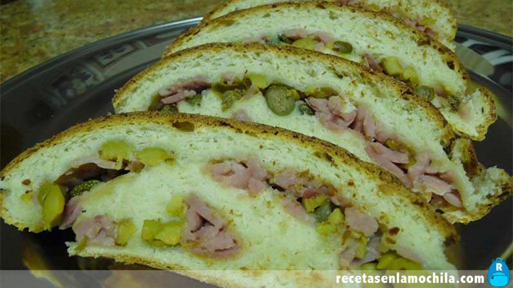 Pan de jamón con Thermomix