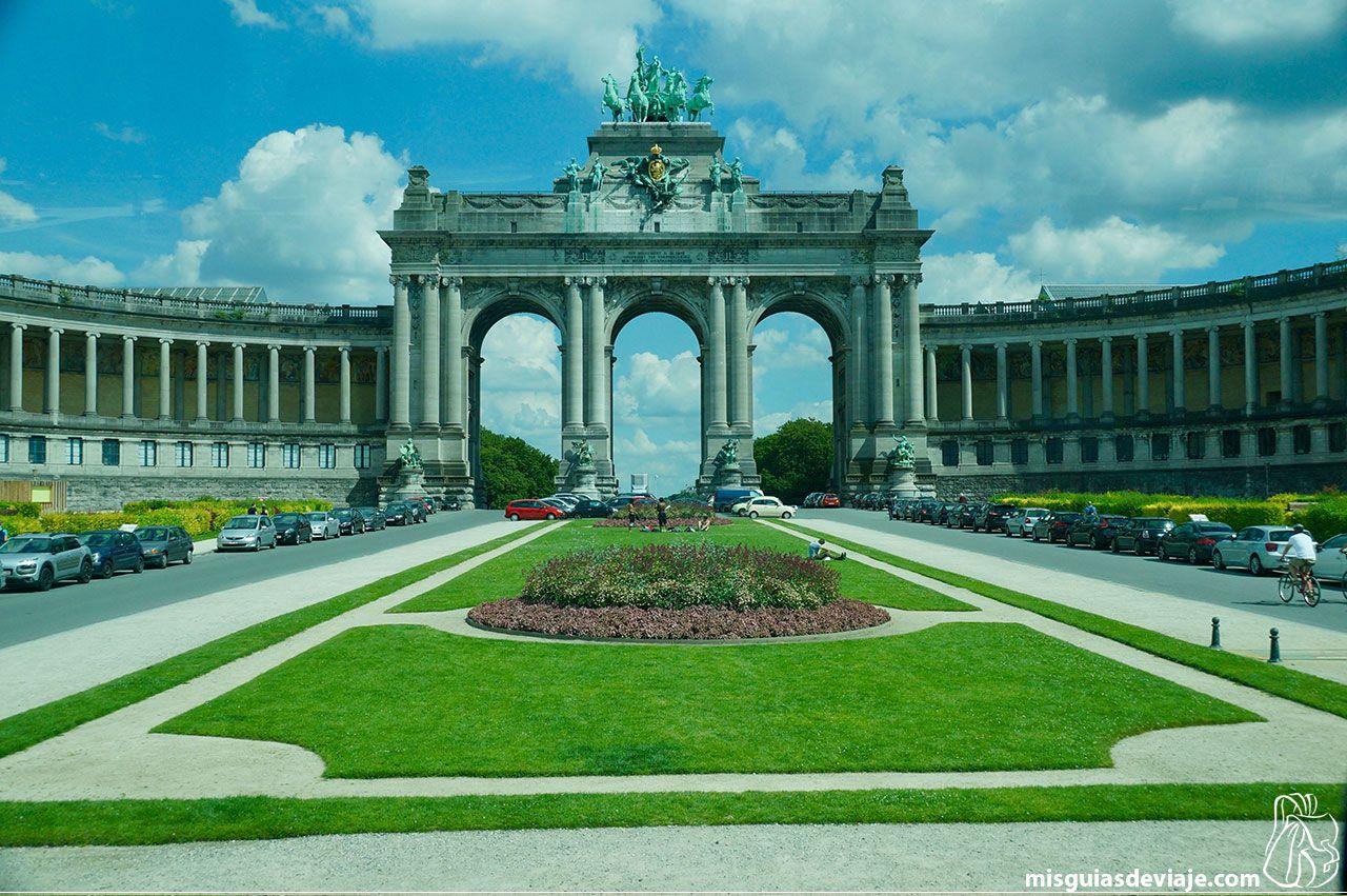 Arco del triunfo de Bruselas