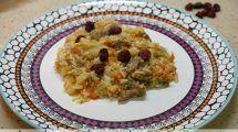Plov, arroz con verduras y cordero con Thermomix