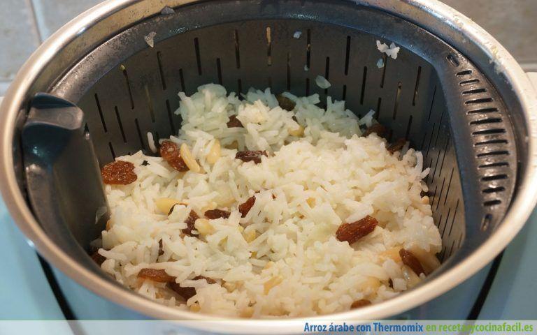 Cómo hacer arroz árabe con Thermomix