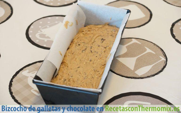 Cómo hacer Bizcocho de galletas y chocolate con Thermomix