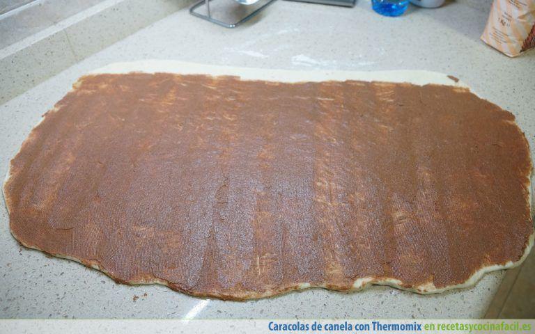 Cómo hacer caracolas de canela con Thermomix