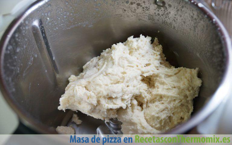 Cómo hacer masa de pizza con Thermomix
