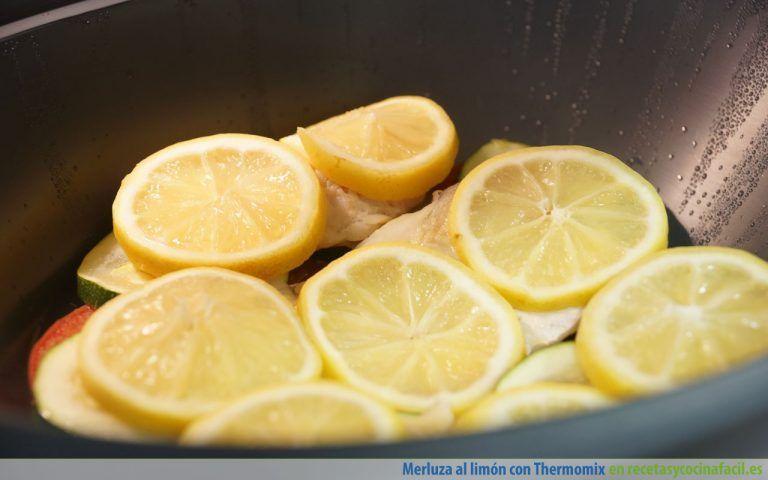 Cómo hacer merluza al limón con Thermomix