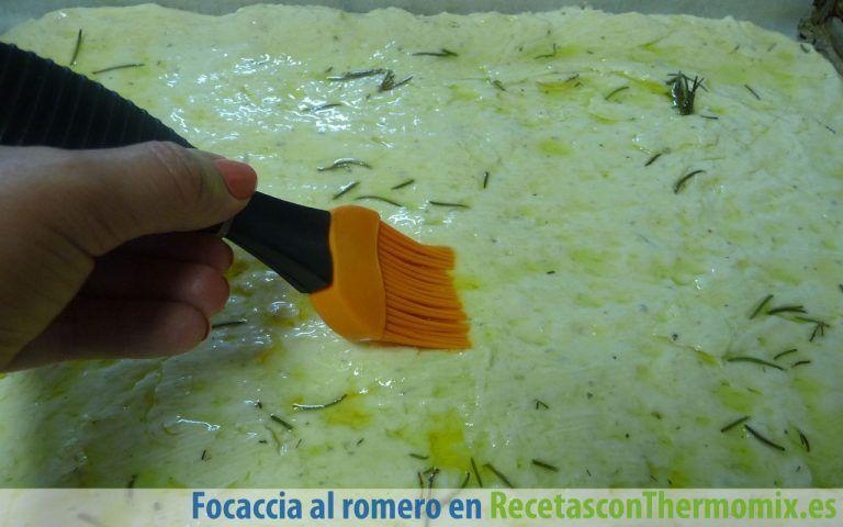 Cómo preparar focaccia al romero con thermomix
