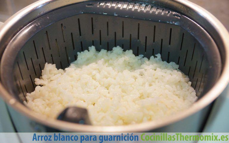 Cómo hacer arroz blanco en Thermomix