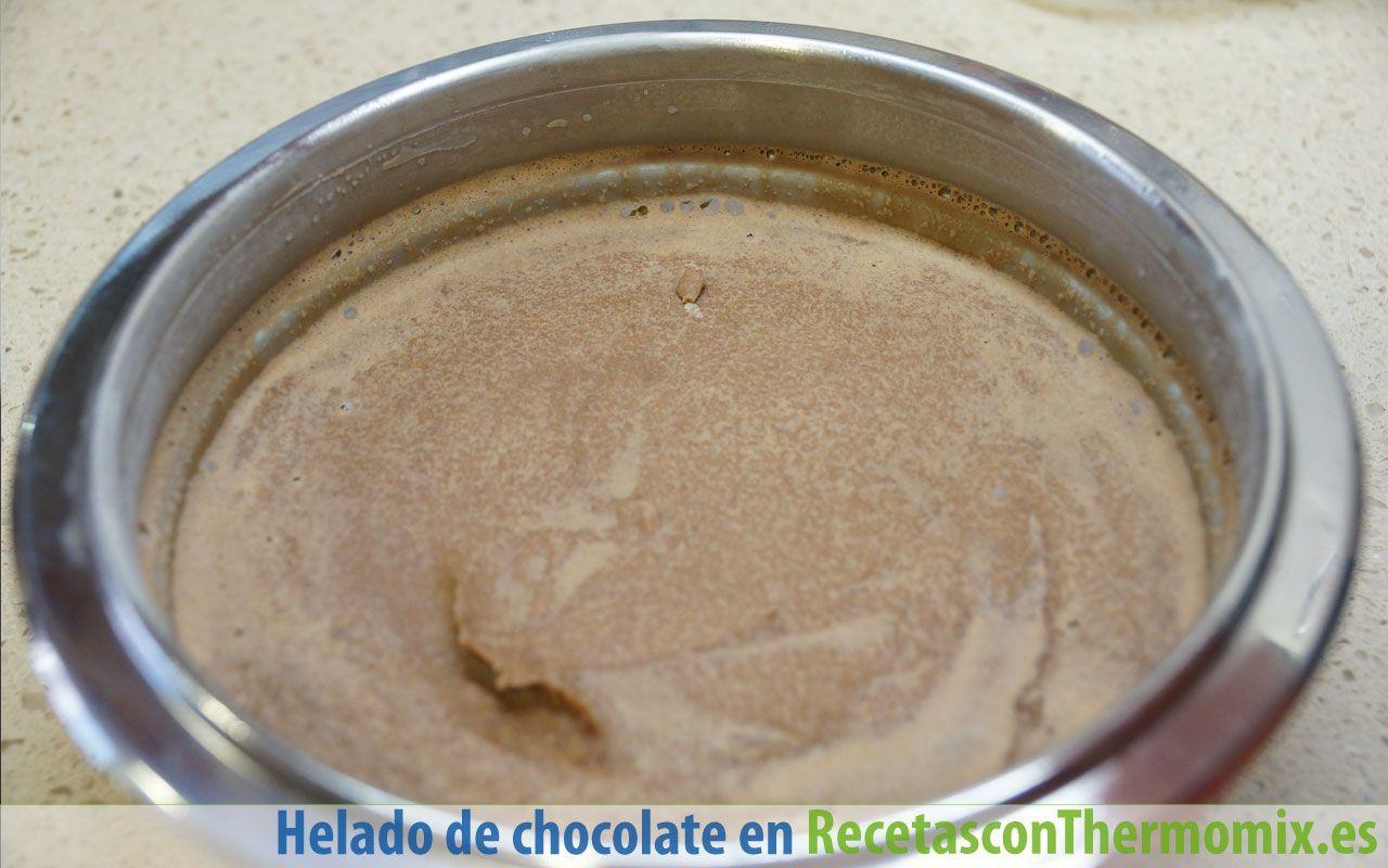 Cómo hacer helado de chocolate con Thermomix