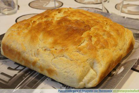 Pan nevado para el desayuno con Thermomix