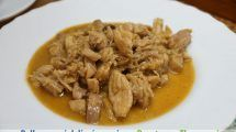 Pollo con salsa de miel, limon y soja Thermomix