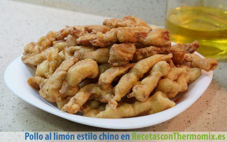 Cómo preparar pollo al limón estilo chino Thermomix