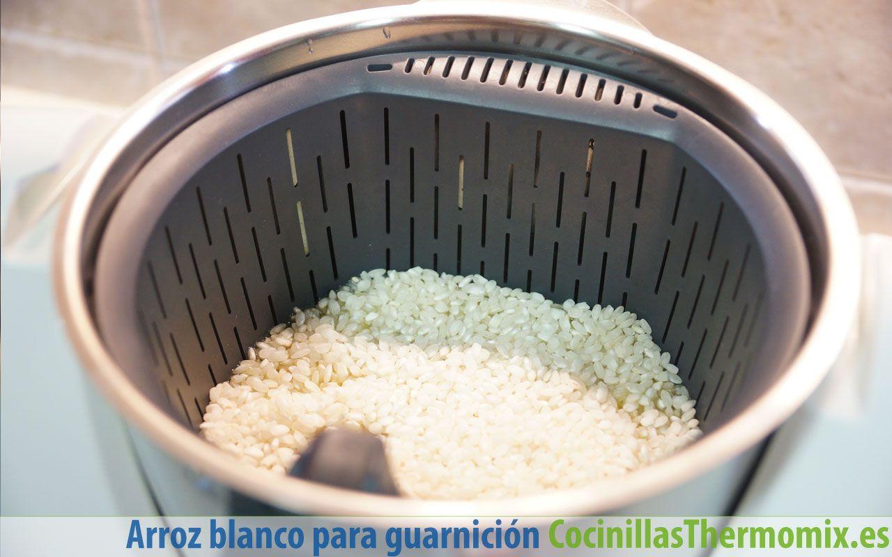 Cómo preparar arroz blanco en Thermomix