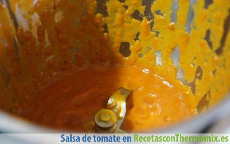 Cómo preparar salsa de tomate básica con Thermomix