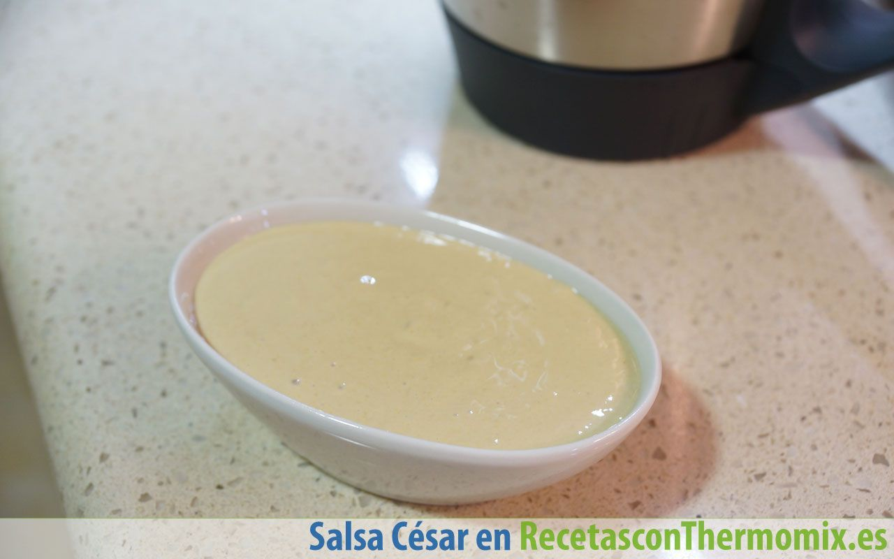 Salsa César Thermomix