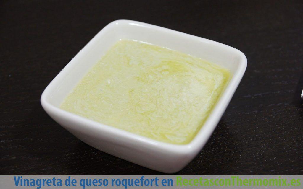 Vinagreta de queso roquefort con Thermomix