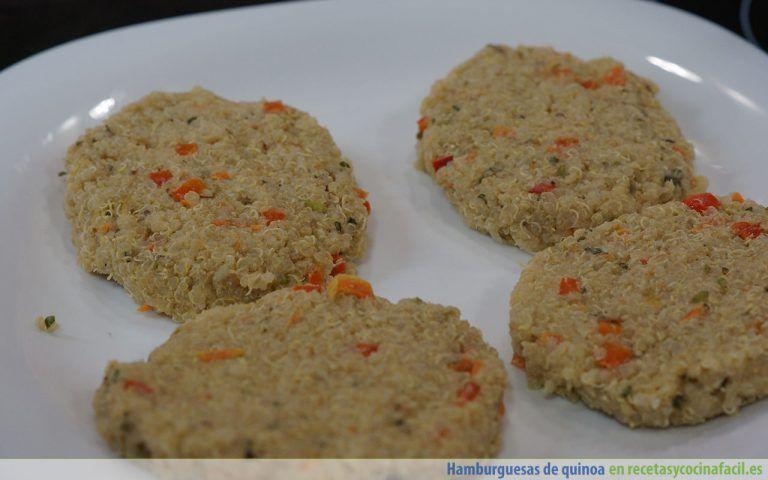 Cómo hacer unas hamburguesas de quinoa