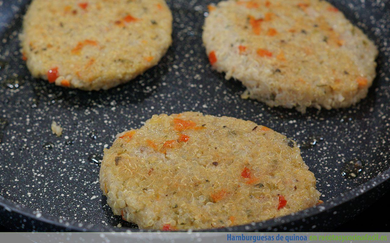 Cómo preparar unas hamburguesas de quinoa