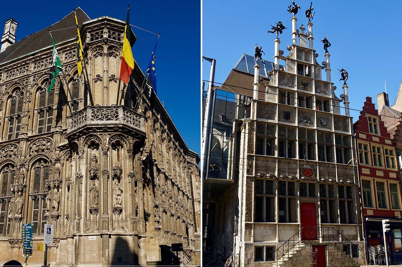 Edificios curiosos de Gante