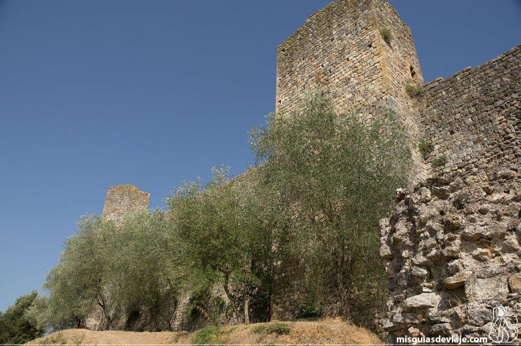 Torres de la muralla de Monteriggioni