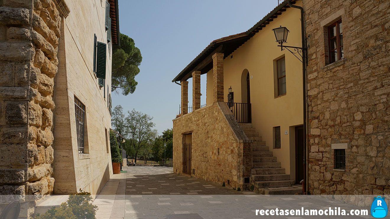 Calles de Bagno Vignone