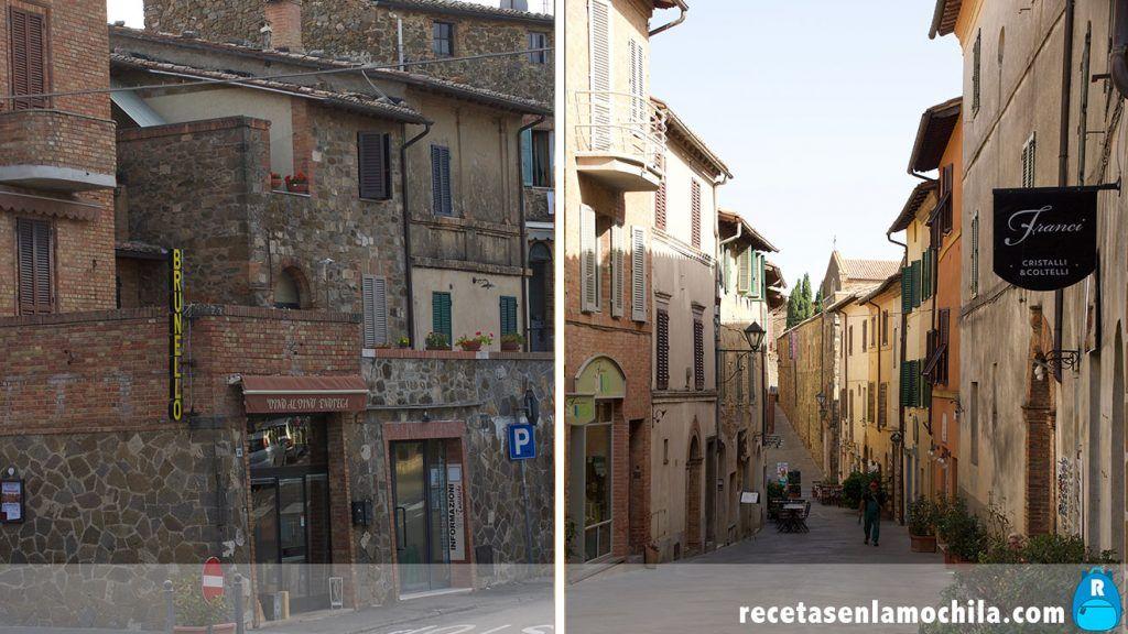 Calles de Montalcino