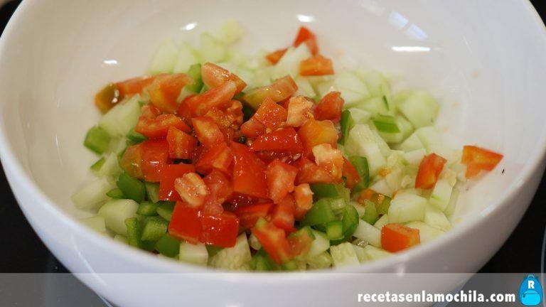 Cómo hacer una ensalada de lentejas