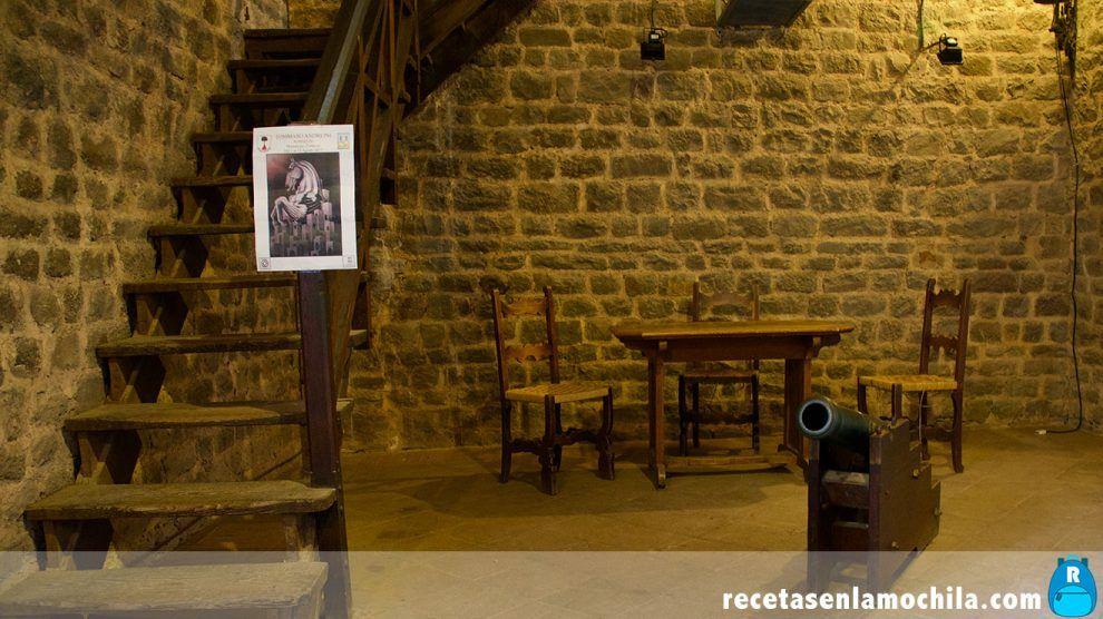 Interior de la fortezza de Montalcino