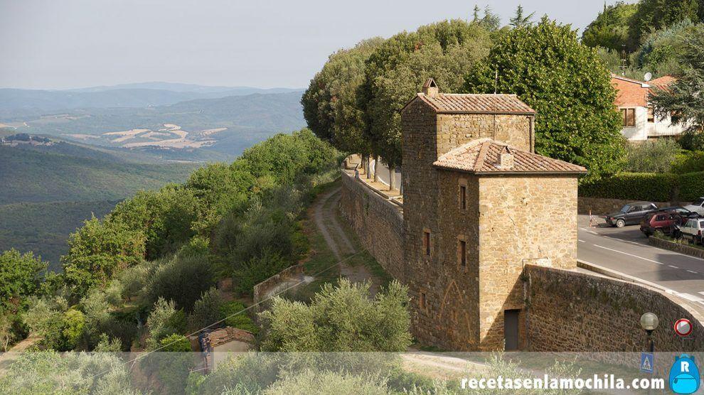 Murallas de Montalcino