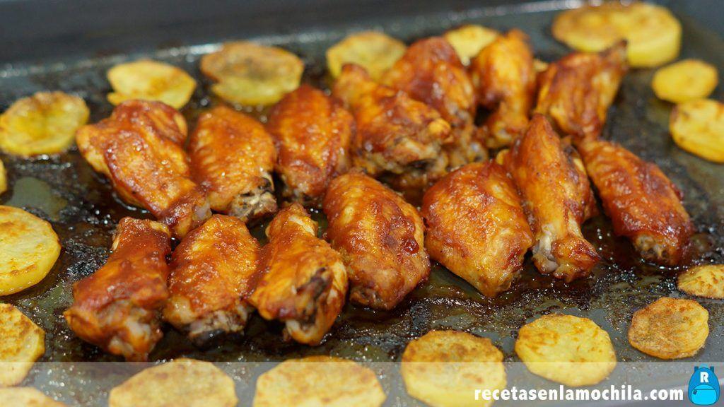 Cómo hacer alitas de pollo con salsa barbacoa fáciles y rápidas