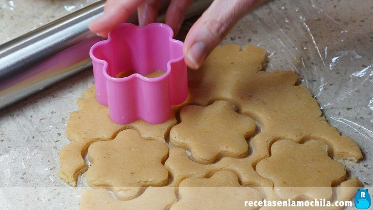 Hacer galletas de turrón