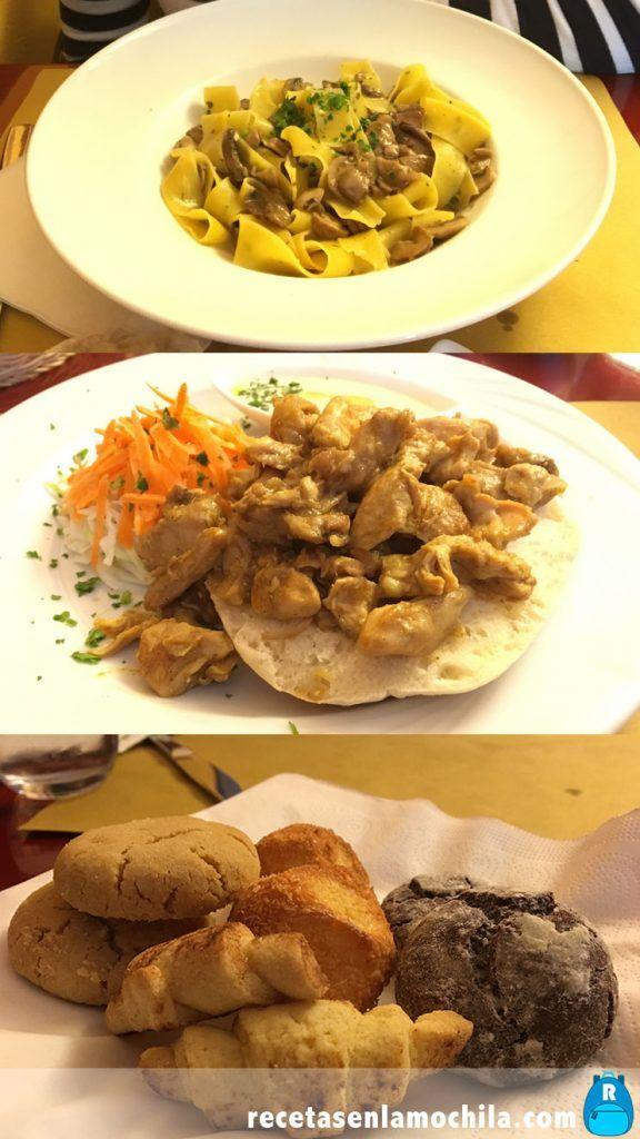 Comida kosher del restaurante Gam Gam