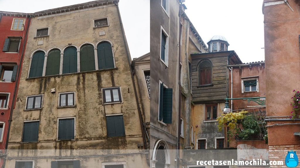 Sinagogas del Ghetto de Venecia