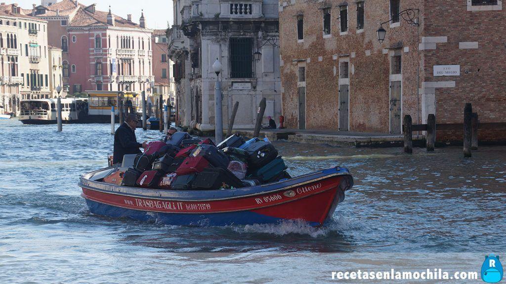 Transporte en Venecia