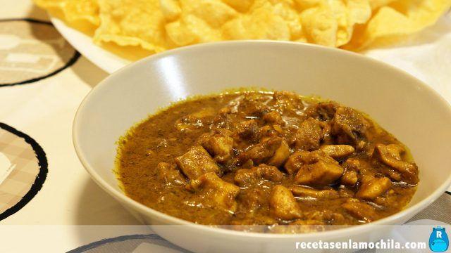 Recetas Asiáticas. Curry De Pollo Fácil Y Rápido