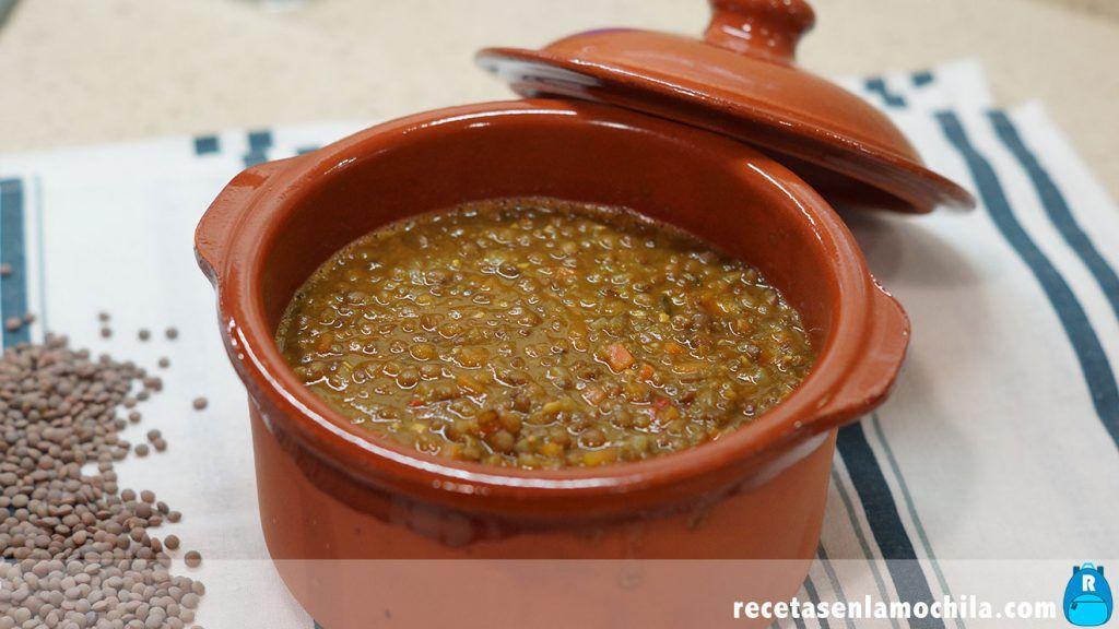 Lentejas estilo marroquí