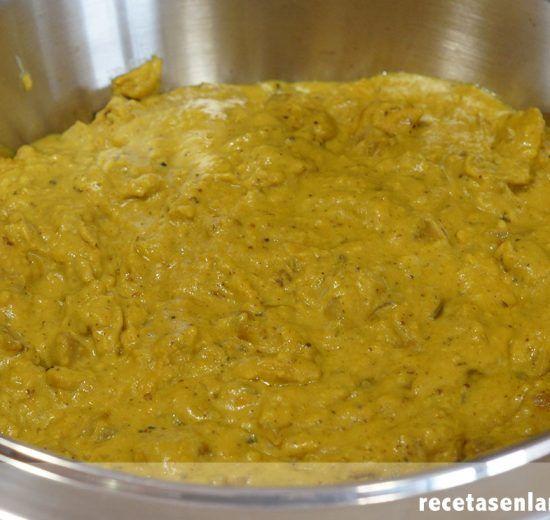 Curry korma de pollo