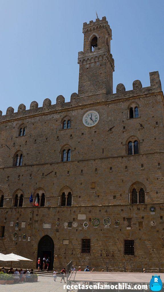 Palacio Priori en Volterra