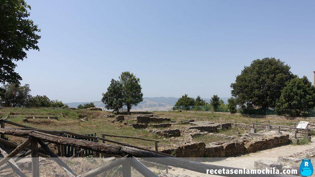 Ruinas etruscas
