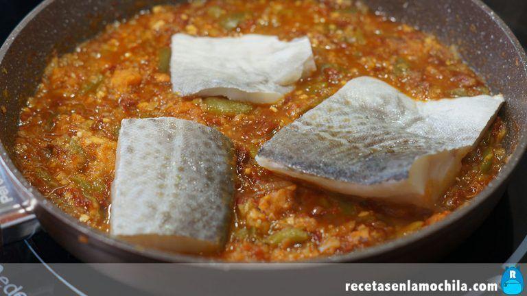 Cómo hacer bacalao a la vizcaína
