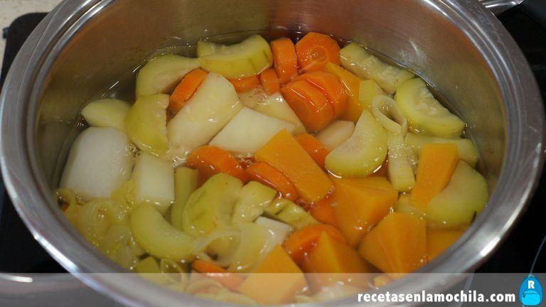 Cómo hacer crema de verduras