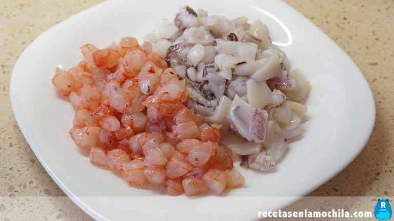 Cómo preparar calamares rellenos