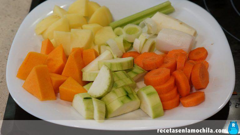 Verduras para hacer crema