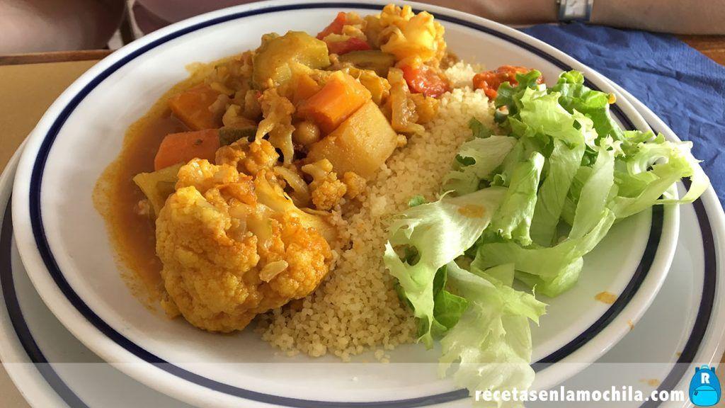 Cuscus con verduras kosher