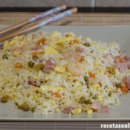 Arroz Tres Delicias Estilo Chino Recetas En La Mochila