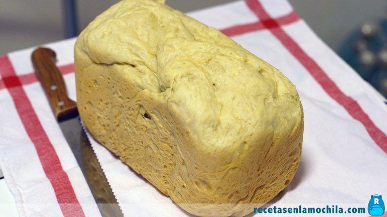 Pan de sandwich en panificadora