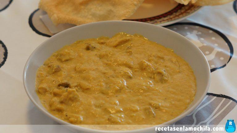 Cómo hacer pollo en salsa de mango y curry