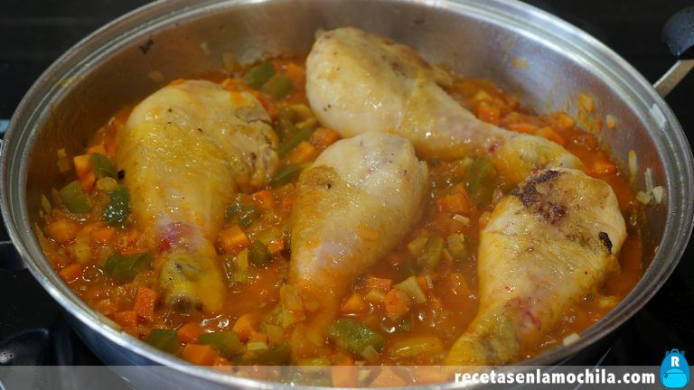 Cómo hacer pollo en salsa