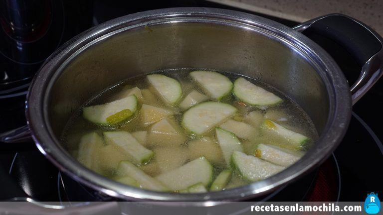 Cómo preparar crema de calabacín