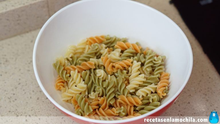 Cómo preparar ensalada de pasta