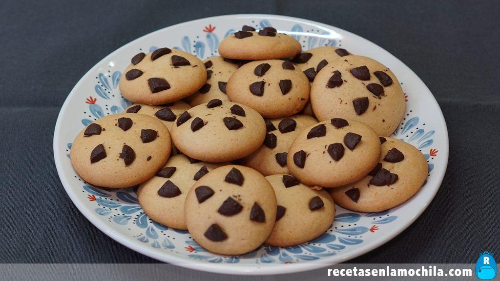 Cookies sin mantequilla