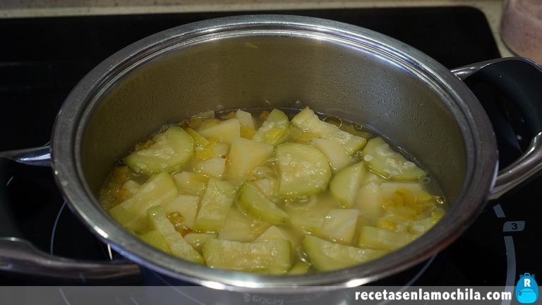 Cómo hacer crema de calabacín